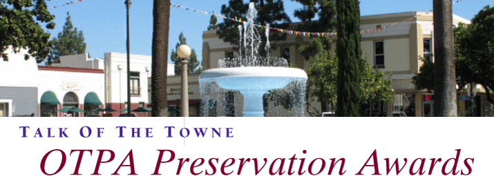 OTPA Preservation Awards