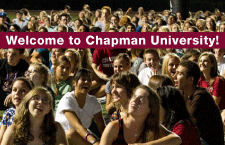 Welcome to Chapman University