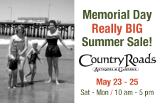 Country Roads Memorial Day Sale