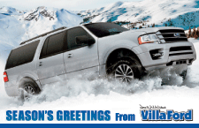 Season's Greetings from Villa Ford