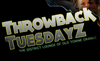 Throwback Tuesdayz at the District Lounge