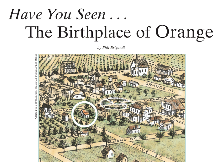 The Birthplace of Orange