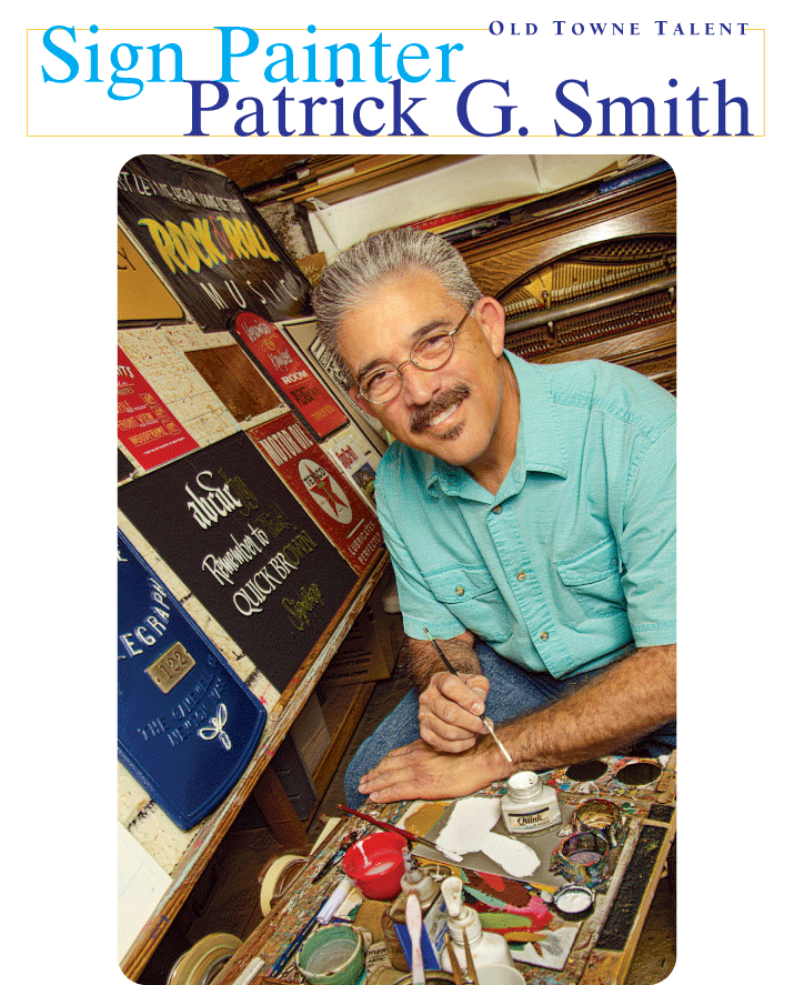Patrick G. Smith Sign Artist