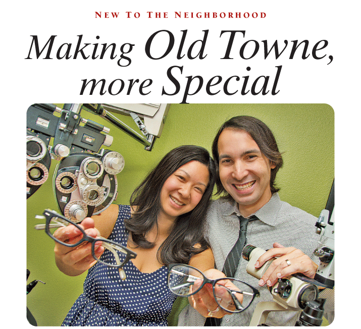 Orange Circle Optometry in Old Towne Orange