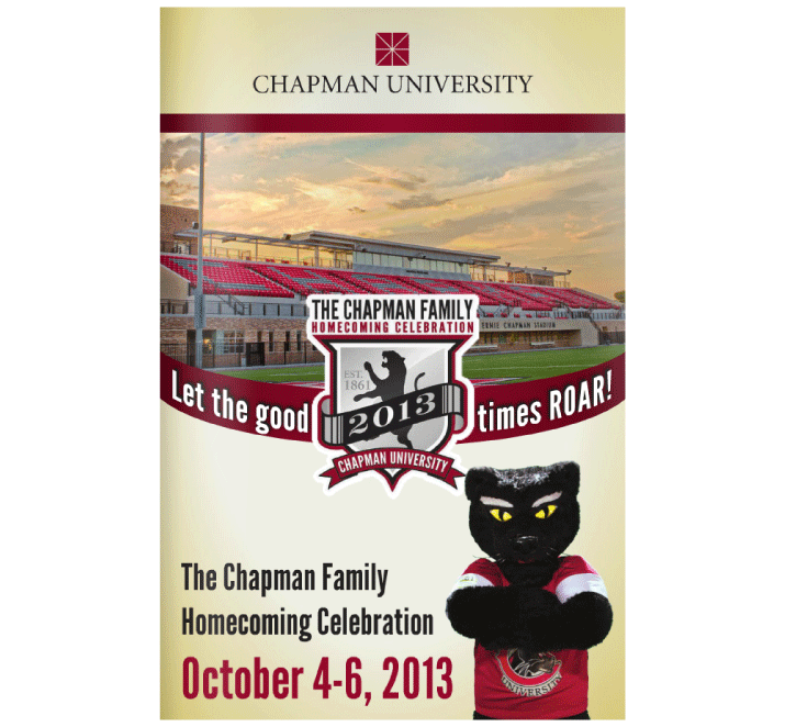 Chapman University Homecoming 2013 Digital Program