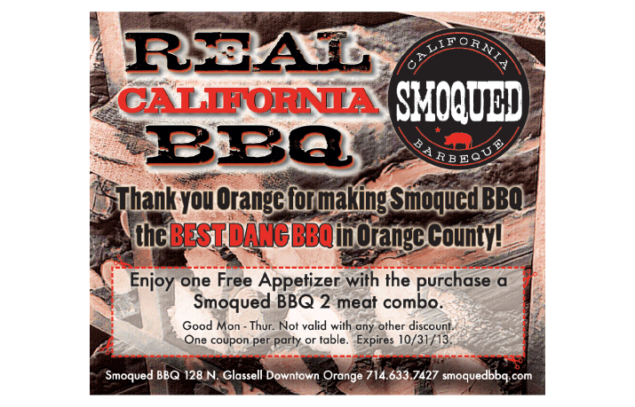 Smoqued BBQ Free Appetizer