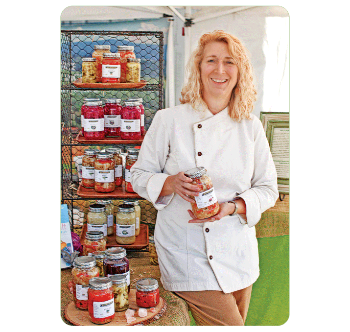 Chele Eades, creator of Wildly Fermented