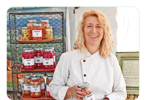 Chele Eades, co-creator of Wildly Fermented