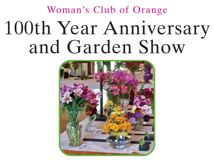 Womans Club of Orange 100 Year Anniversary